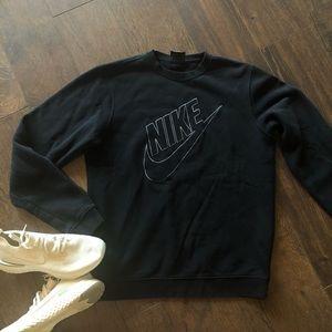 Men's Nike Crewneck Sweatshirt Black Size M